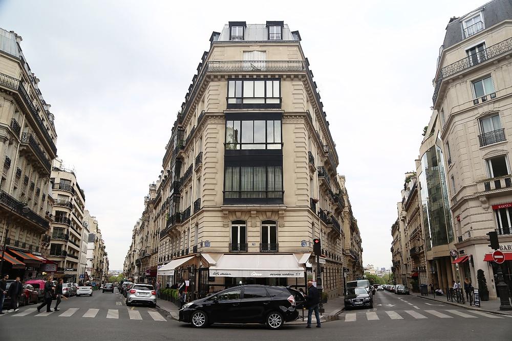 Paris facades