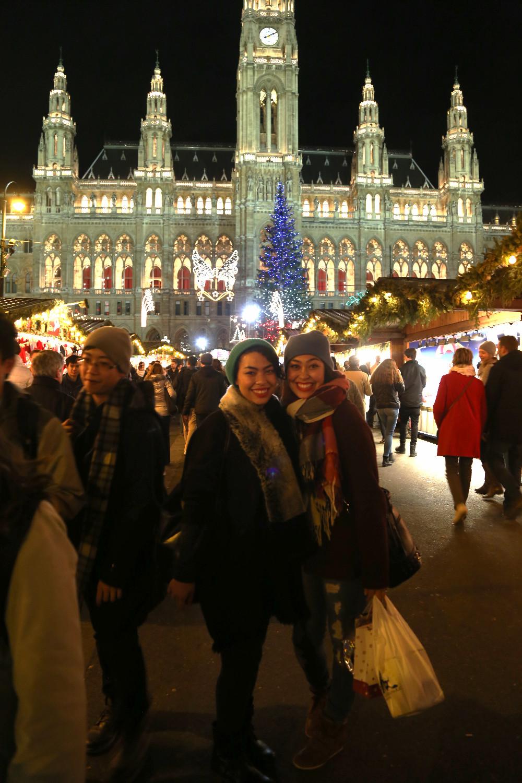 Rathausplatz markt
