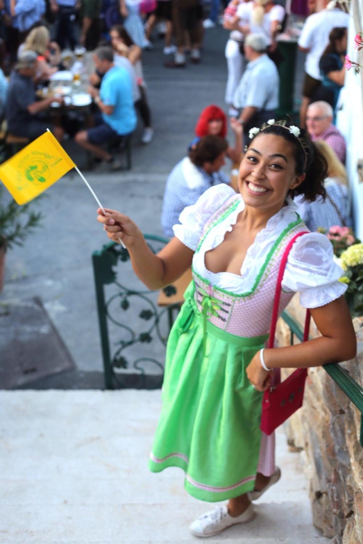 Actual Austrian celebrating Kirtag