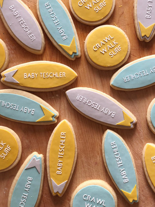 BABY ON BOARD COOKIES