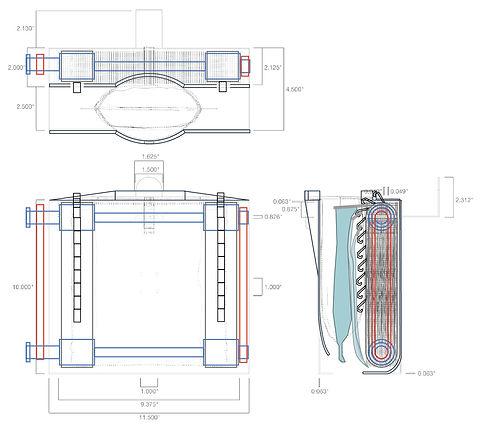 Micro G Water Wheel Design Exterior Illu
