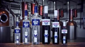 BLUE GIN & SLOEBERRYY BLUE GIN
