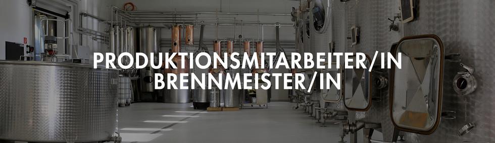 PRODUKTIONSMITARBEITER/IN / BRENNMEISTER/IN