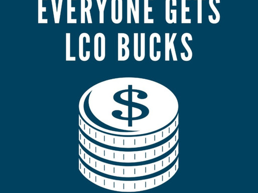 Tribe Has Huge December, Will be Distributed to Members as LCO Bucks
