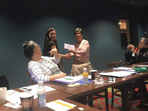LCO Elders Association Awards Two Scholarships