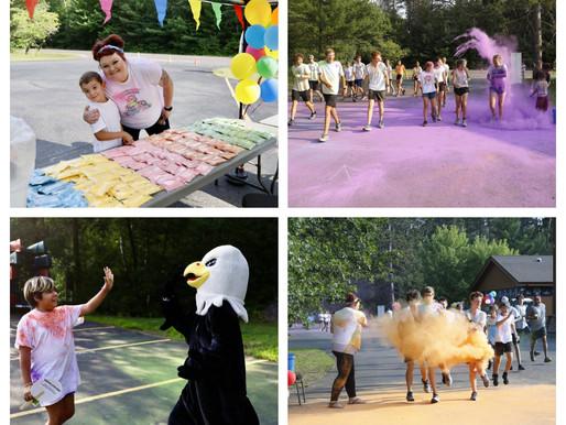 Fun Color Run Held at the LCO Ojibwe College