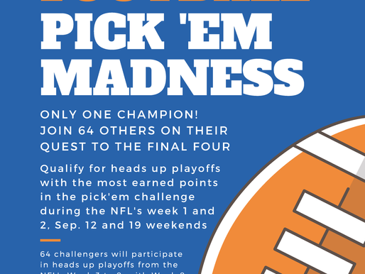 Play the LCO News Pick Em Madness Football Contest and Win Big!