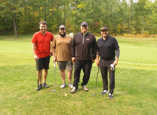 Taylor/Lapointe Team Wins Legends of the North Scramble