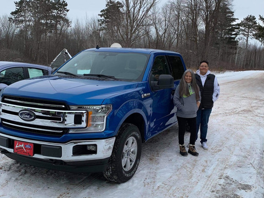 Oakwood Haven Thanks TGB for New Program Truck Through CARES Act Funds