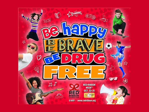 Help Drug Prevention in Our Community During Red Ribbon Week