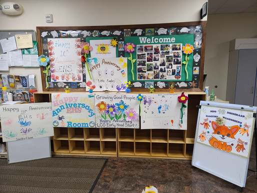 Early Head Start Kids Celebrate 10 Year Anniversary