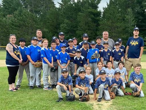 LCO Youth Baseball Teams Win Both All Nations Tournaments