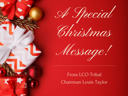 A Christmas Message from LCO Chairman Taylor