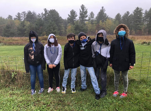 LCO Students Visit College Farm