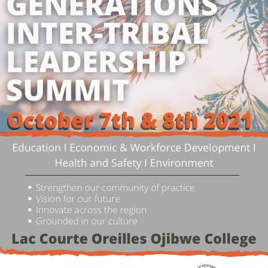 LCO Ojibwe College Invites You to Participate in the Seven Generations Summit