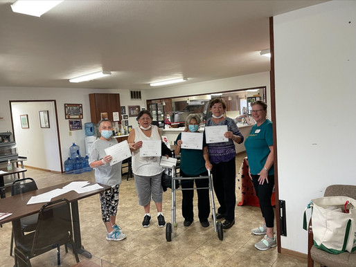 Strong Bodies Class Held at Elder Center Recognized