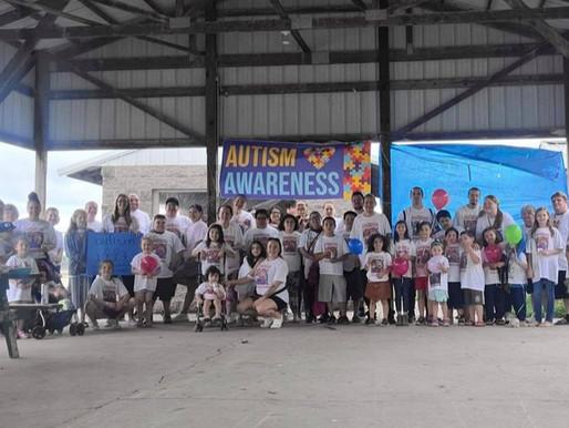 Autism Walk/Run held at the Ball Fields to Raise Awareness