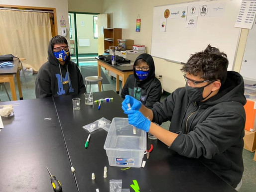 Student experiment heading for the space station Dec. 2