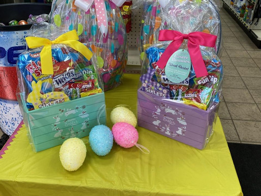 LCO Quick Stop Holding Easter Basket Drawings