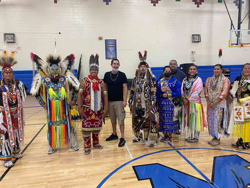 Another Successful Bizhiki Dance Camp Held at LCO Ojibwe School