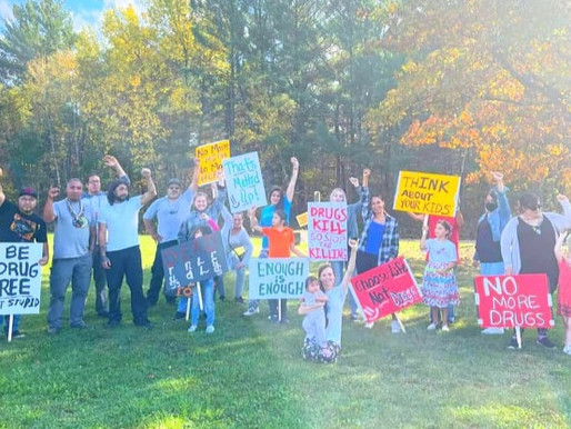 2nd Community March Held to Bring Awareness of Drug Epidemic at LCO