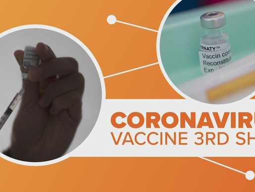 Clinic Issues Alert for Some Who Are Recommended 3rd Covid Vaccine Dose