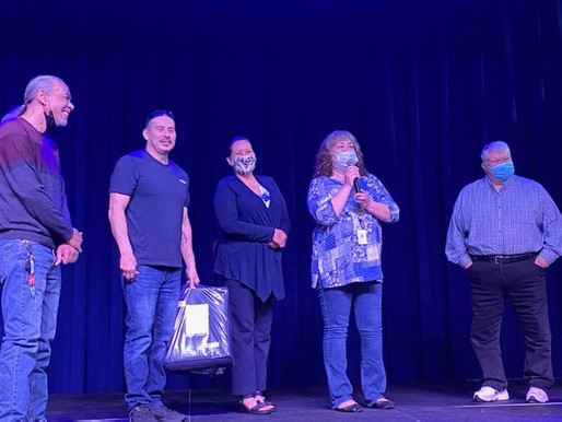 Larry LaSieur Recognized After 39 Years at LCO Development