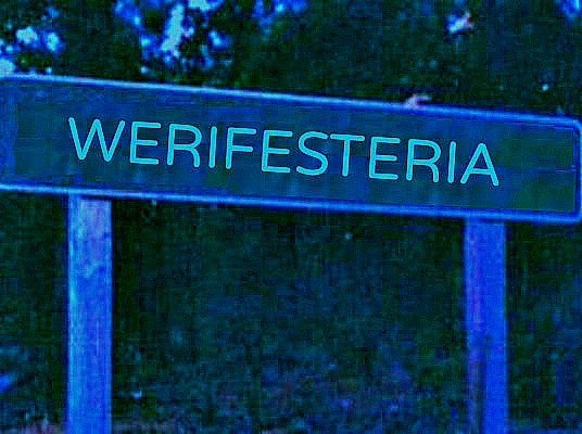 Werifesteria town sign finished.jpg