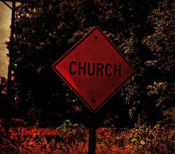 church sign for Werifesteria scary book.jpg