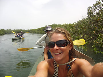 Sangomar Kayak Palmarin Senegal