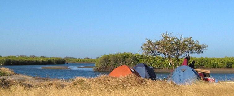 Sangomar Kayak Camping Sine Saloum Palmarin Senegal
