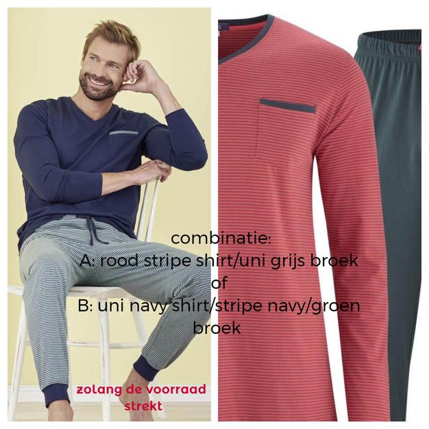 Pyjama Art.nr. 5396 A en B