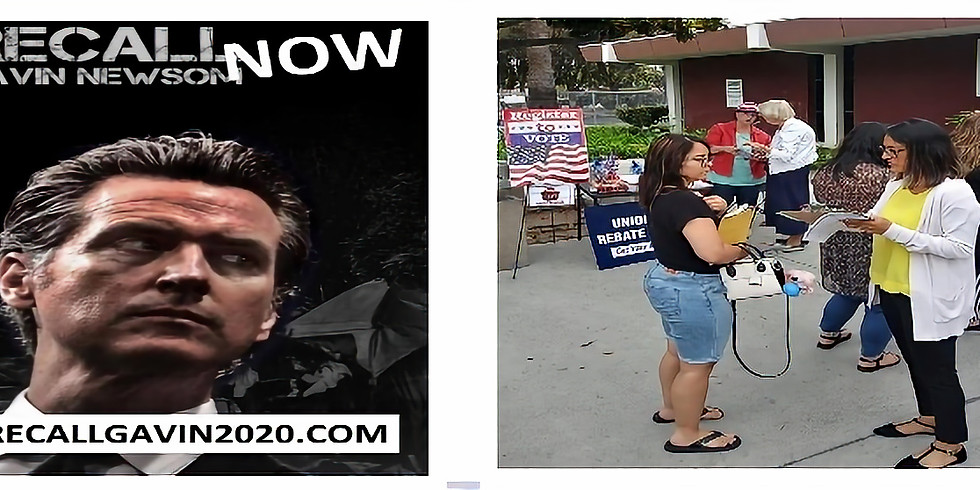 Recall Gavin Newsom/ Voter Registration