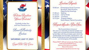 July Annual Membership Luncheon