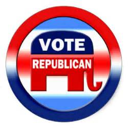 Vote Republican elephant