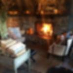Cottonwood Cottage Wood Fireplace