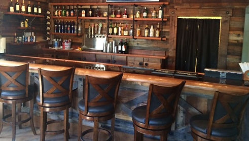 Cottonwood Cottage Rustic Bar