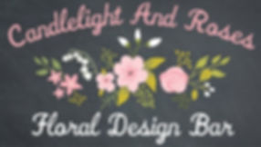 Candlelight and Roses Floral Design Bar