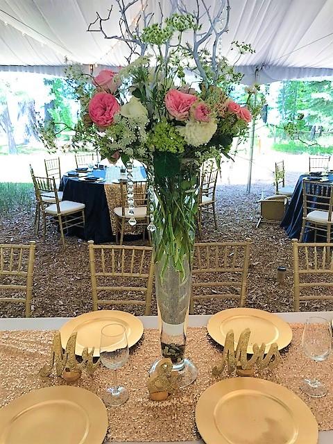 Extra Large Vase Head Table