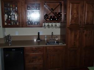 Bar Area and Kegerator