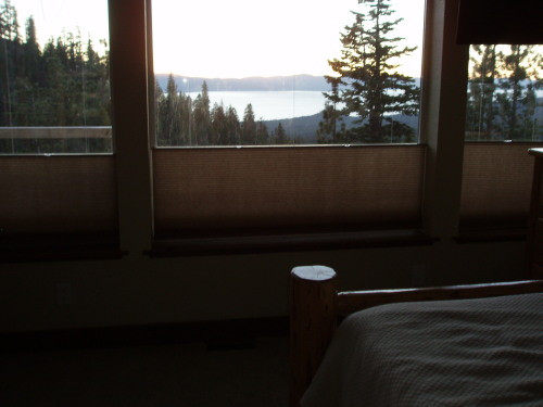 Master Bedroom Views of Lake Tahoe