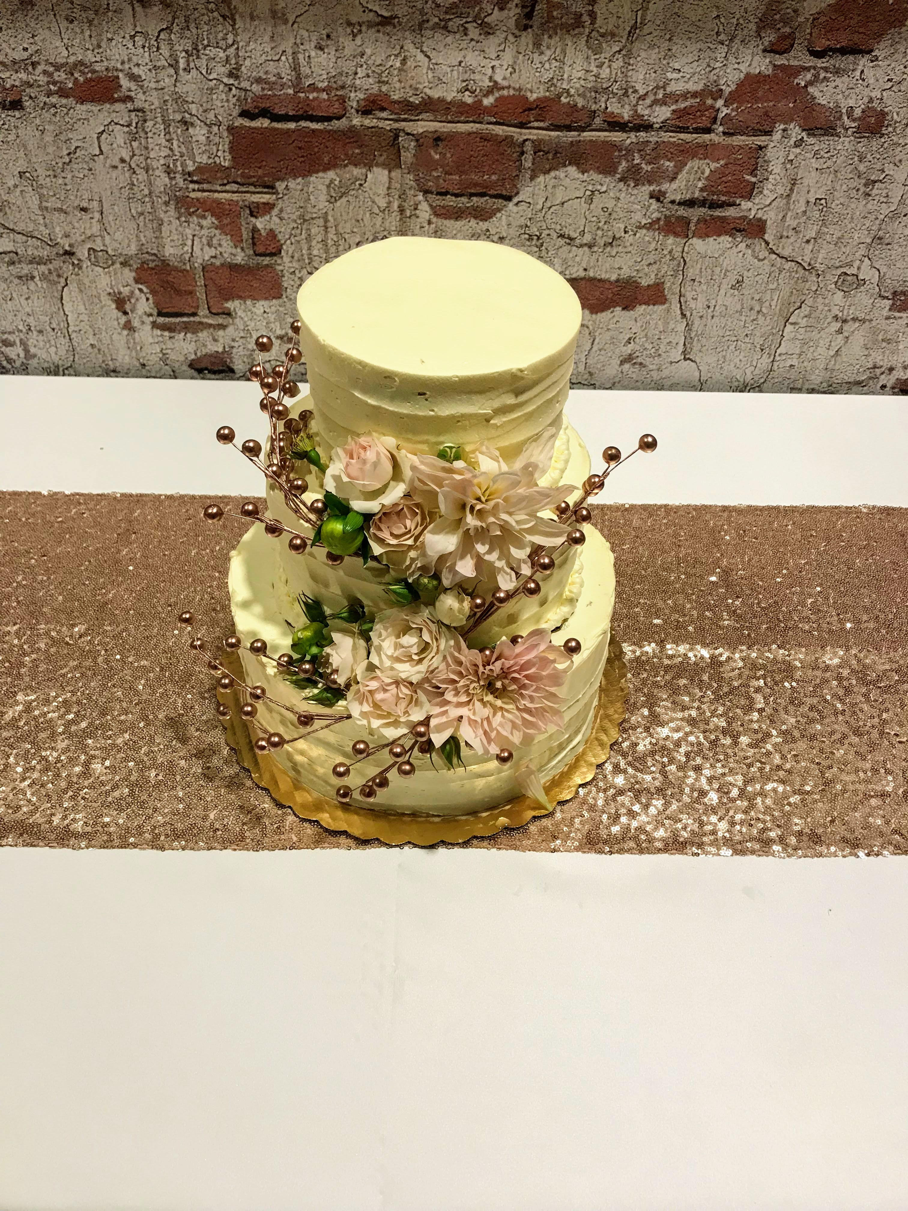Cake Floral Decorations