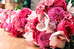 A picture of wedding flowers