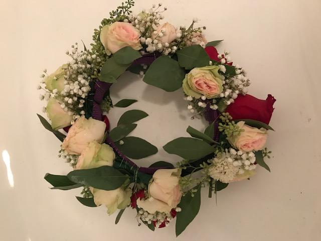 Candlelight & Roses Wedding Flowers