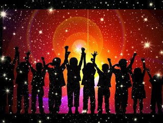 Interstellar Party Time – Each Person Creates Their Own Sacredness Anew and Afresh Each Day