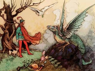 Edgar Meets His Dragon and Kienda's Introduction to Meditation