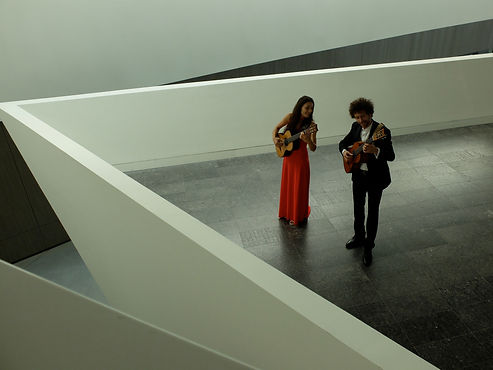 Duo Cannella Dubès Vincent  Nausicaa Aquila artist