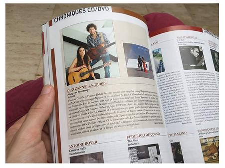 Duo Cannella Dubès magazine