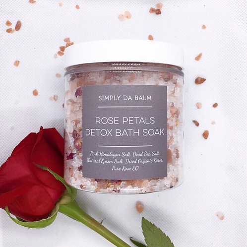 Rose Petals Detox Bath Soak