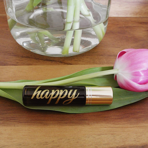 Happy - Aromatherapy Essential Oil Roll On